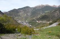Camino de Fontaneda, en dirección a Sant Julià.