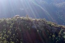Vistas del despoblado de Santa Creu.
