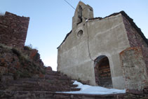 Iglesia de Rubió.