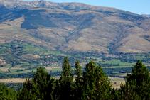 El valle de la Cerdaña desde el collado de Jovell.