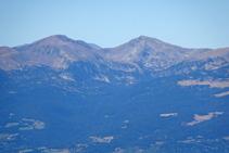 Picos Monturull y Perafita.