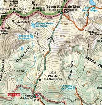 Plana De tossa plana de lles 2 905m desde el pradell rutas pirineos