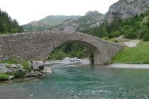 Puente románico de Bujaruelo.
