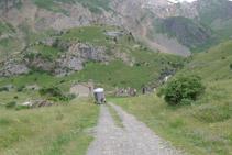 Cabaña - refugio de Otal.