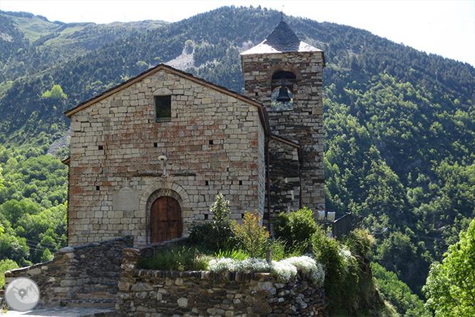 Valle de Riqüerna y camino de Rus desde Capdella 1