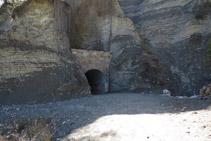 Entrada del primer túnel.