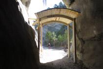 Salida del primer túnel.