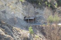 Segundo túnel de la Vía del Nicolau.