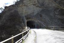 Tercer túnel de la Vía del Nicolau.