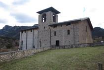 Monasterio de Sant Llorenç prop Bagá.