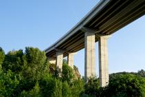 El puente de la C-16.