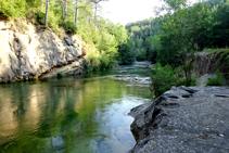 El río Llobregat.