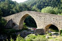 El puente de Pedret.