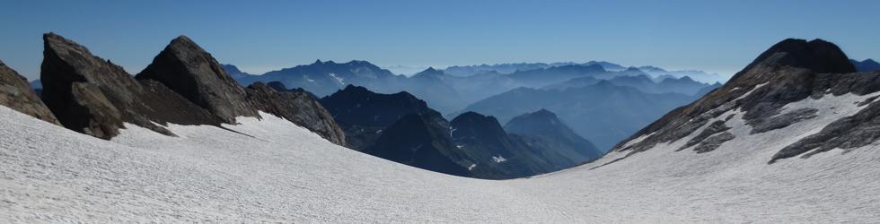 Del Gran Vignemale (3.298m) al Montferrat (3.219m) desde Ossoue