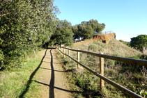 Camino al mirador de las Guilloteres.