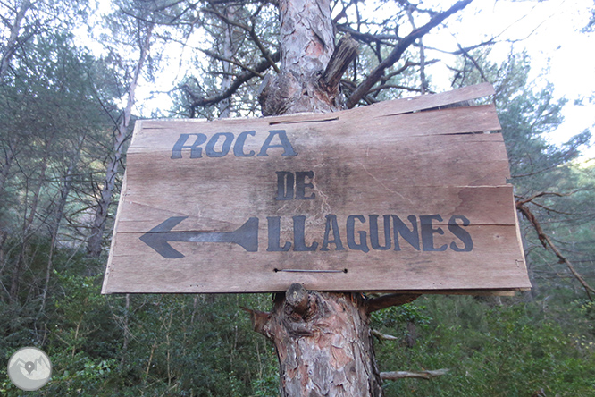 Vuelta a la sierra de Freixa desde Llagunes 1