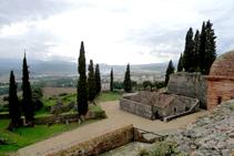 Vistas desde el castillo (fuera de ruta).