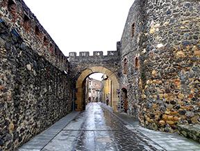 Vuelta al castillo de Hostalric