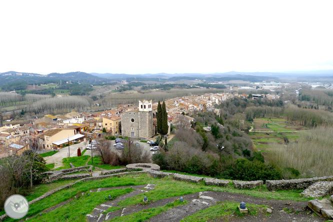 Vuelta al castillo de Hostalric 1