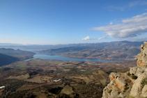 Gran parte del Pallars Jussá a nuestros pies.