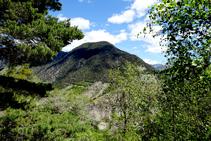 Pico de Coscullo, sobre Llavorsí.