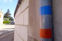 Dentro de Sant Dalmai también seguimos las marcas.