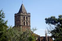 Campanario de la Iglesia de Sant Dalmai.
