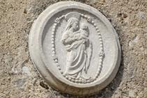 Detalle de Santa Maria de Salitja.